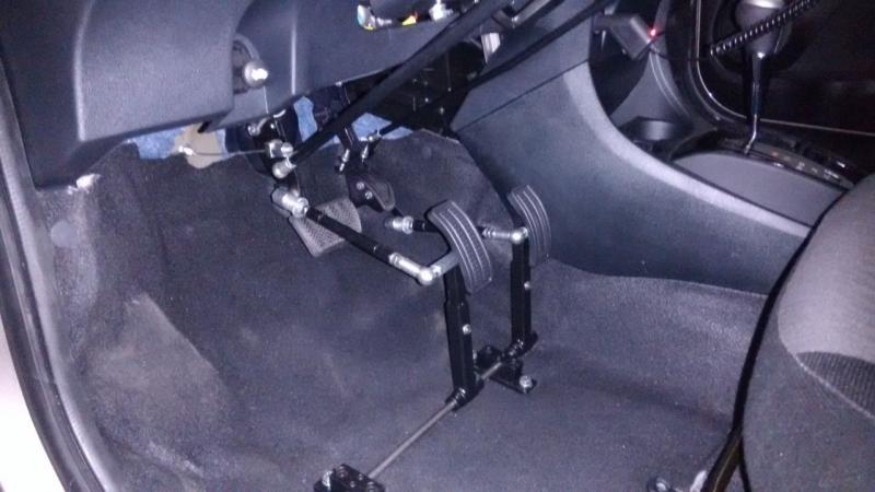 Prolongador de Pedal em Veículos Automáticos Americana - Prolongador de Pedal em Carros