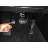 acelerador esquerdo do carro pcd