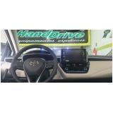 freio e acelerador manual