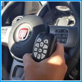 central de comando eletrônico de volante